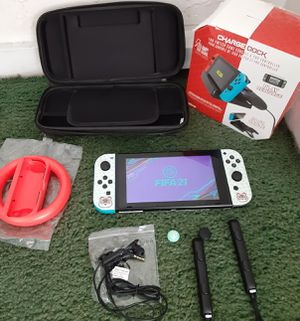 V2 NINTENDO SWITCH WITH OVER 35 GAMES for Sale in Los Angeles, CA