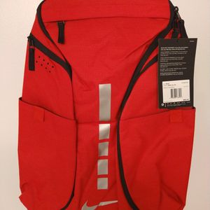 Nike Hoops Elite Pro Basketball Backpack University Red/Black/Grey BA5990-657 for Sale in Garden Grove, CA