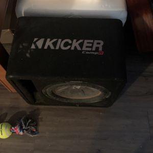 Kicker 1x12 Sale for Sale in Wichita, KS