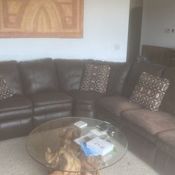 6 Piece Lazy Boy Brown Sectional for Sale in Puyallup,  WA