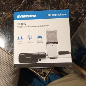 Samson Brand USB Microphone for Sale in Marietta, GA