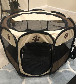 Portable Pet Play Pen for Sale in Lake Worth, FL