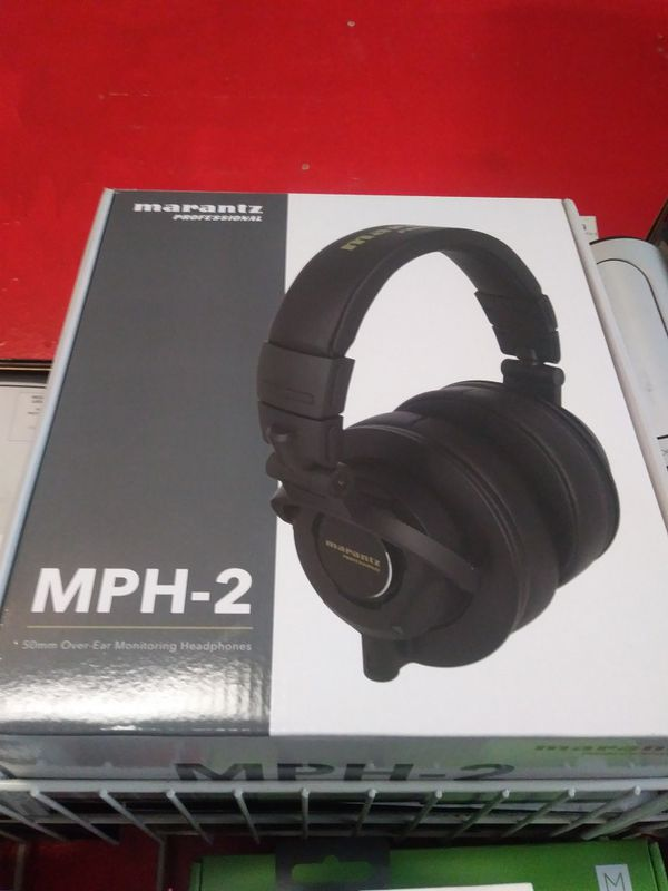 MPH-2 Marantz Headphones Brand New