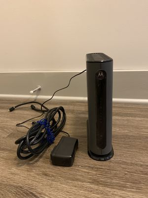 Motorola wifi Modem +Router for Sale in Atlanta, GA