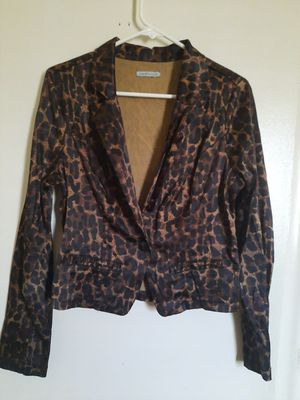 Ladies fur vest and blazer, both size small pet free and smoke free home, $10 for both. for Sale in West Palm Beach, FL