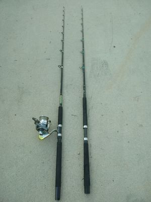OKUMA & PEN FISHING POOLS 6,6FT ,$95 FOR BOTH. for Sale in Jurupa Valley, CA