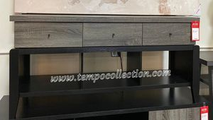 NEW IN THE BOX. STYLISH TV STAND, DISTRESSED.SKU#TC161828TV for Sale in Santa Ana, CA