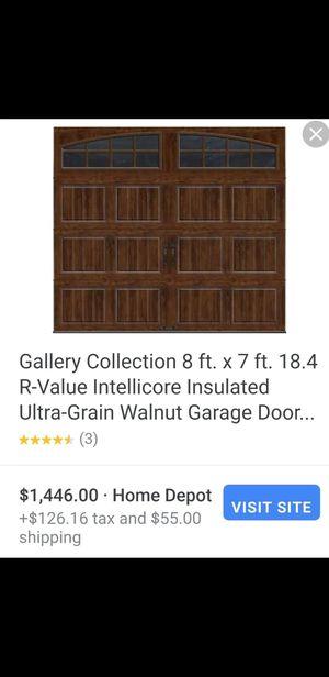 9x7 insulated garage door for Sale in Parlier, CA