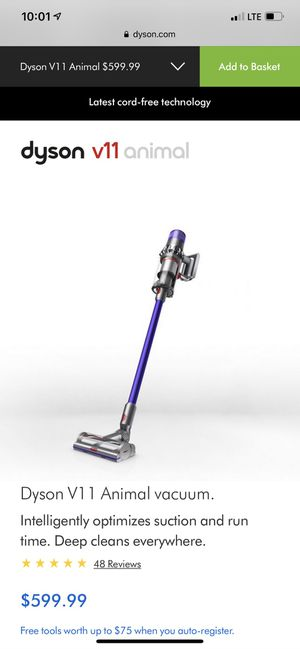 Dyson vacuum, -retails $599, selling $275 for Sale in Cedar Park, TX