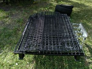 Collapsible pallet cage for Sale in Gibsonton, FL