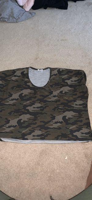 Camo shirt for Sale in Fayetteville, GA