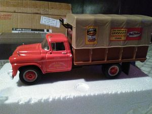 Used, 1958 GMC Cargo truck 1/34 scale TruValue diecast for Sale for sale  Ocklawaha, FL