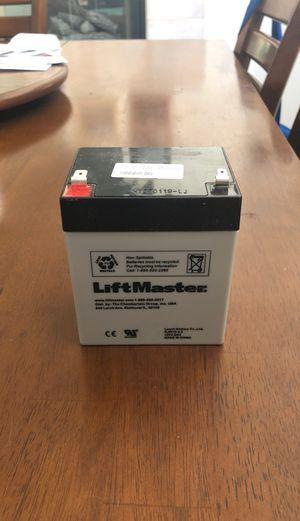 Garage Door Opener Backup Battery for Sale in Las Vegas, NV