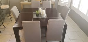 Dining room table & chairs from Copenhagen for Sale in Phoenix, AZ