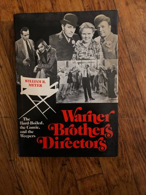 Warner Brothers Directors Book by William Meyer for Sale in Linden, NJ