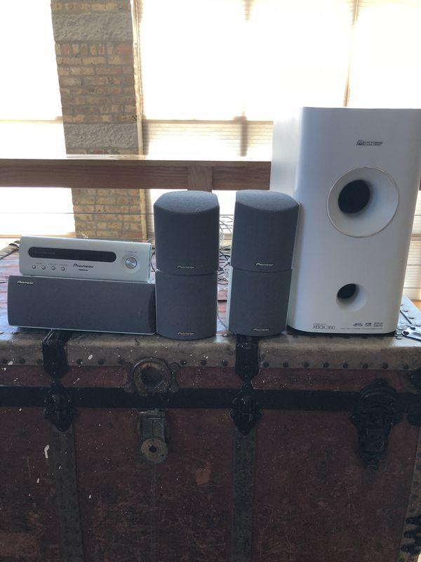 Pioneer Surround System Speakers