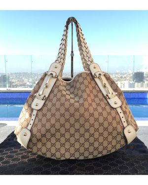 Authentic GUCCI PELHAM Monogram Canvas Tote Bag for Sale in San Diego, CA