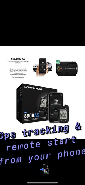 Monitor your car 24/7 with compustar system for Sale in Magnolia, TX