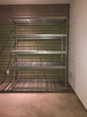 Garage storage metal shelving unit for Sale in Phoenix, AZ