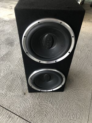 2 12 inch subs for Sale in Torrance, CA