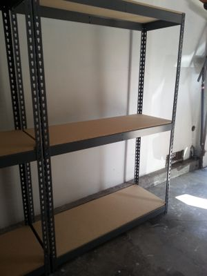 Garage Shelves Industrial Racking 48 in W x 18 in D Boltless Storage Shelving -Delivery Available - Pickup in Duarte for Sale in Los Angeles, CA