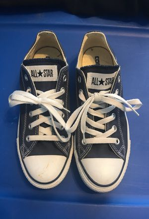Blue Converse all stars for Sale in Fort Washington, MD