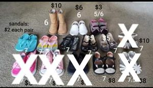 Must go! Toddler Girl shoes for Sale in Los Angeles, CA