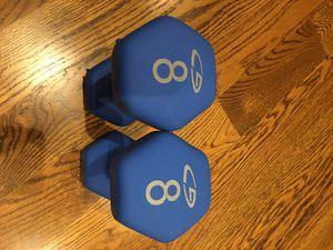 Champion C9 Neoprene Hand Weights - 8 lb for Sale in San Mateo, CA