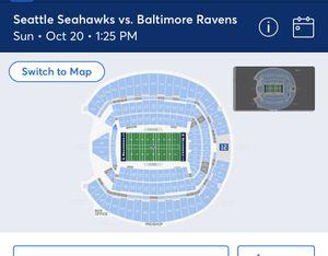 2s4 seahawks tickets section 342 R seats 9-12 $100 each obo for Sale in Renton, WA
