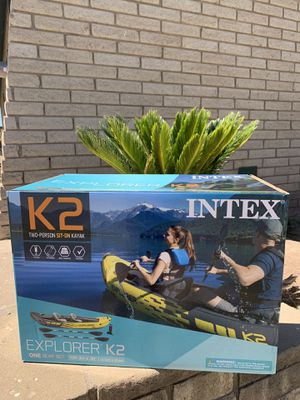 INTEX K2 Explorer Inflatable Kayak NEW for Sale in Glendale, AZ
