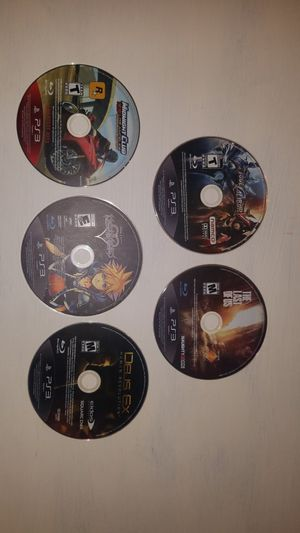 PS3 games, Kingdom hearts, The Last of Us, Soul Caliber for Sale in Elk Grove, CA