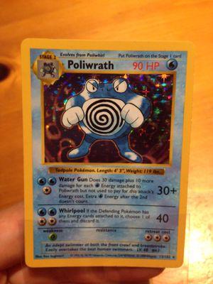 Pokemon Shadowless Poliwrath for Sale in Santa Ana, CA