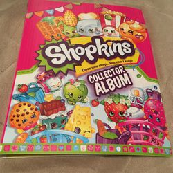 Shopkins collector album, seasons 1 & 2 collector cards for Sale in Signal Hill,  CA
