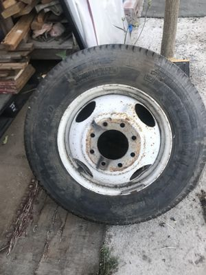 Rim for a Motorhome $35 came off a 1986 Chevy Motorhome for Sale in Chino, CA