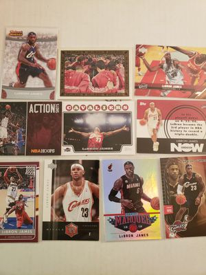 Lebron James Cavs Heat NBA basketball cards for Sale in Gresham, OR