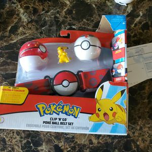 Pokemon Poket Ball Belt Set for Sale in Hemet, CA