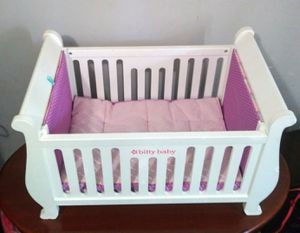 Bitty American Girl doll crib for Sale in Charlotte, NC