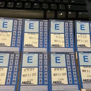 $15 EACH Metra 10 Ride Tickets for Sale in Glen Ellyn, IL