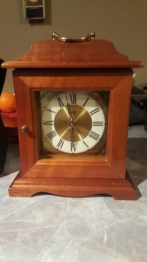 Solid wood clock and jewlery box for Sale in Harrisonburg, VA