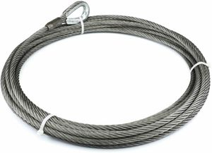 """New WARN 79294 WINCH CABLE & HOOK 1/2"""" X 60' - 26,600 LB for Sale in Renton, WA"""