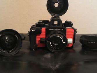 Vintage Nikonos V underwater film camera for Sale in Spring,  TX