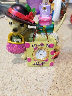 New chihuahua clock for Sale in Cape Coral, FL