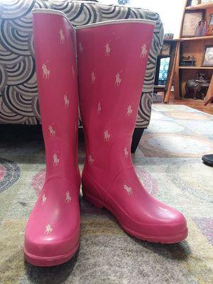 Polo rain boots for Sale in Utica, NY