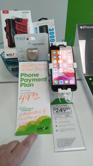 New Phone with Progressive Leasing Program for Sale in San Angelo, TX