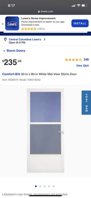 Screen door for Sale in Reynoldsburg, OH