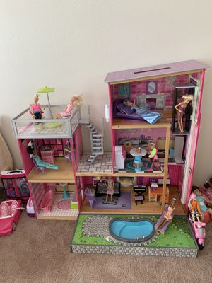 Barbie house playhouse for Sale in Redlands, CA