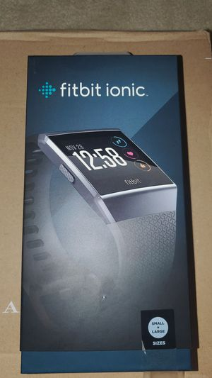 GREAT CONDITION Fitbit Ionic Bluetooth Fitness Watch for Sale in West Springfield, VA
