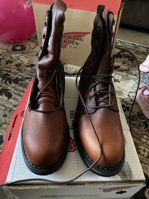 Size12 B steel toe Red Wing high boots for Sale in La Porte, IN