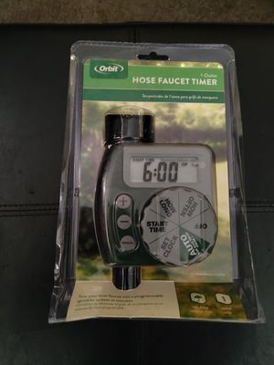Hose Timer *New* for Sale in Redlands, CA