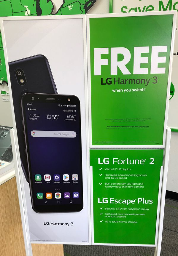 Free phone when you switch!